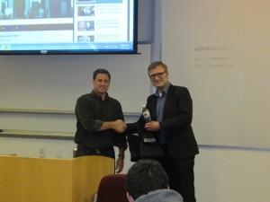 Bryan Elliott & Niklas Myhr at Chapman University