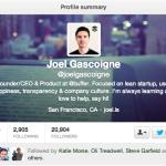 """@joelgascoigne """"Joel Gascoigne"""""""