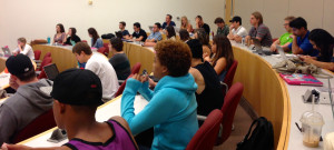 Captivated audience Chapman University