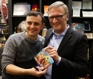 "Gary Vaynerchuk gets David Myhr CD ""Soundshine"""