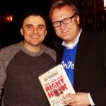 "Gary Vaynerchuk in LA with ""Jab, Jab, Jab, Right Hook"" book"