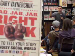 Gary Vaynerchuk speaks at Book Soup bookstore
